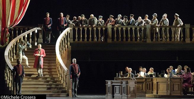 lirica  Un ballo in maschera, de Verdi, sube al escenario del Teatro de la Maestranza