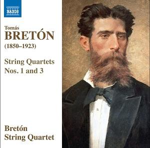 cdsdvds  Bretón por el Cuarteto Bretón