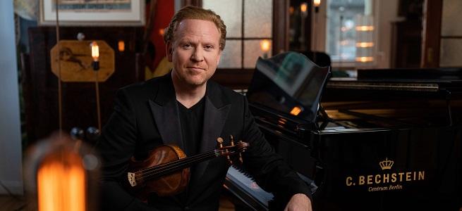 clasica  El Canal Arte presenta Europe@Home, un nuevo formato musical conducido por el violinista Daniel Hope