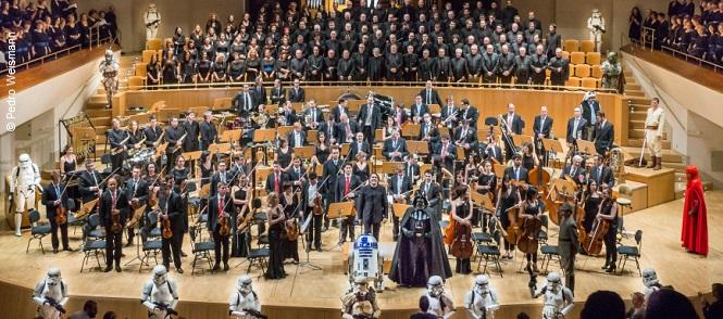 clasica  La música de Star Wars suena con la Filarmonía de Madrid