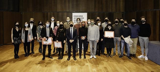 premios  Miguel Bonal, ganador del Concurso de Música Antigua de Juventudes Musicales de España