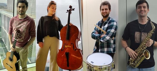 actualidad de centros  El Conservatorio Superior de Navarra ofrece en streaming la VI edición de su ciclo 'Jóvenes Intérpretes'