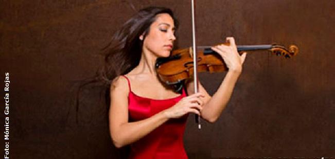 clasica  Leticia Moreno y siete músicos de cuerda de la Orquesta de Valencia interpretan el Octeto, de Mendelssohn en el Almudín