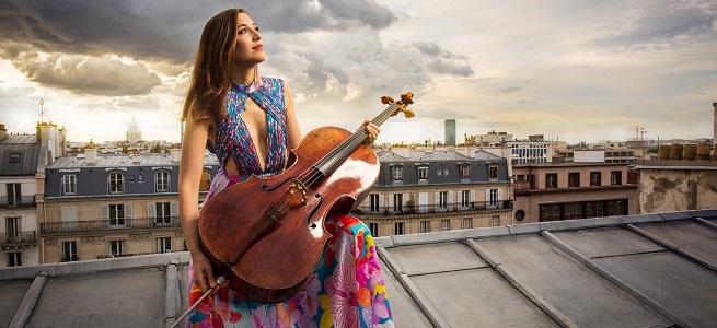 "contemporanea  La joven chelista belga Camille Thomas estrena ""Never give up"", de Fazil Say en España"