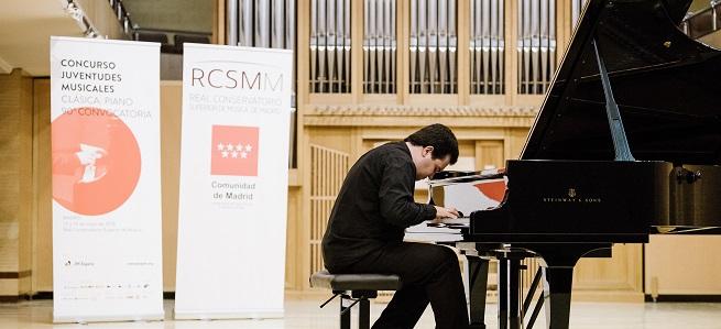 convocatorias concursos  99 edición del Concurso Juventudes Musicales de España en la modalidad de piano y otros instrumentos