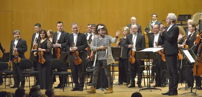 """contemporanea  La Real Filharmonía de Galicia estrena la obra """"Un ollo de vidro"""" del compositor gallego Antón Alcalde, un encargo de la RFG"""