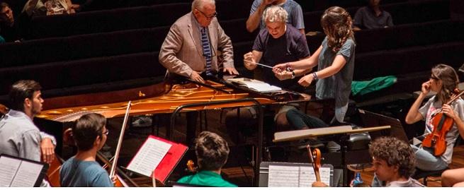 cursos de verano 2021  XVII Curso para pianistas, directores y Joven Orquesta Leonesa