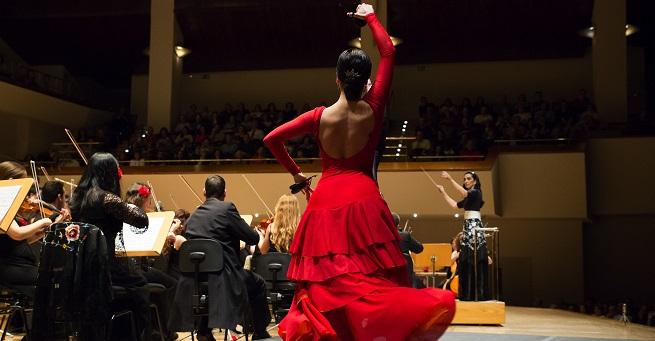 lirica  ¡Vive la zarzuela! en el Auditorio Nacional con la Orquesta Metropolitana de Madrid y el Coro Talía