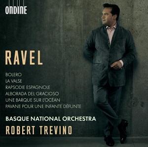 novedades  Euskadiko Orkestra y Robert Treviño presentan en su primer disco juntos al compositor vasco más universal: Ravel
