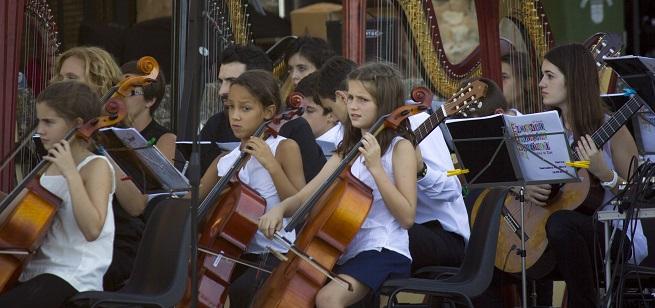 cursos de verano 2021  10º Encuentro Orquestal Sinfónico de Alba de Tormes para niños y jóvenes
