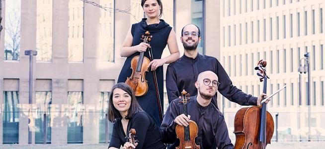 clasica  El Cuarteto Cosmos sustituye al Cuarteto Takács en el ciclo Liceo de Cámara XXI del CNDM