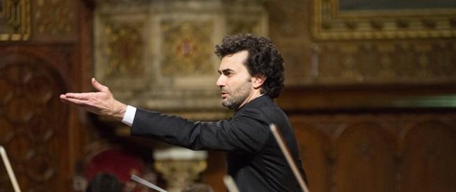 clasica  Iñigo Pirfano dirige a la Jove Orquestra Simfònica de Barcelona