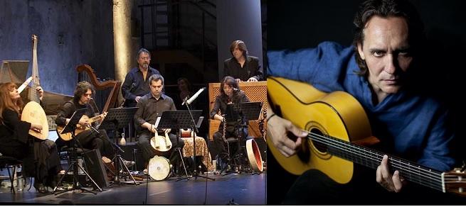 festivales  El guitarrista Vicente Amigo y L'Arpeggiata, en MUSEG 2021