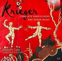 cdsdvds  Alejandro Casal presenta un doble disco con la integral de las obras de Johann Krieger