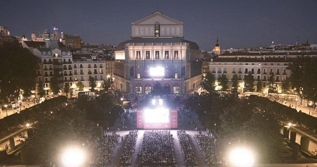 lirica  El Teatro Real retransmitirá, al aire libre, Tosca y la Novena, de Beethoven, con Dudamel