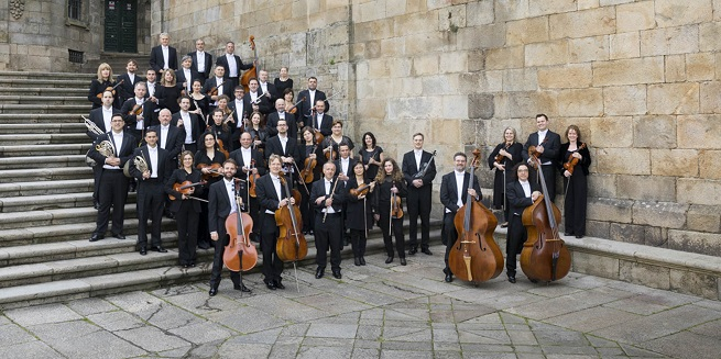 clasica  La Real Filharmonía de Galicia celebra su 25º aniversario con una gala lírica en la Plaza de la Quintana