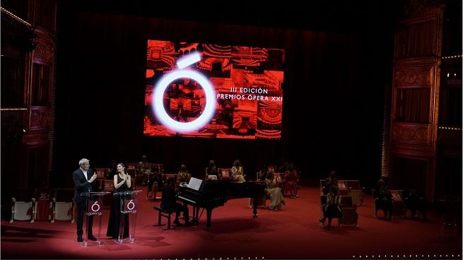 lirica  Tercera edición de la Gala de los Premios Ópera XXI