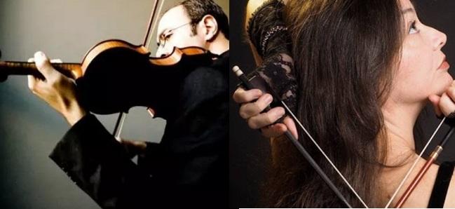 antigua  Gordan Nikolik y Lina Tur Bonet en el inicio de temporada de la Orquesta Ciudad de Granada