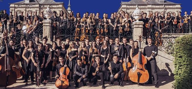 clasica  Concierto de la Orquesta Sinfónica del Real Sitio en el Auditorio Lienzo Norte de Ávila