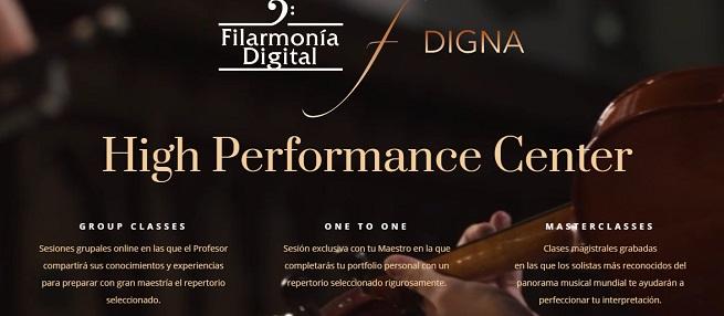 cursos  Filarmonía de Madrid pone en marcha una plataforma de enseñanza musical profesional