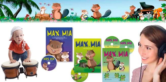 cursos  Curso de formación de profesorado de Conmusica. Max y Mia para niños de 0 a 4 años
